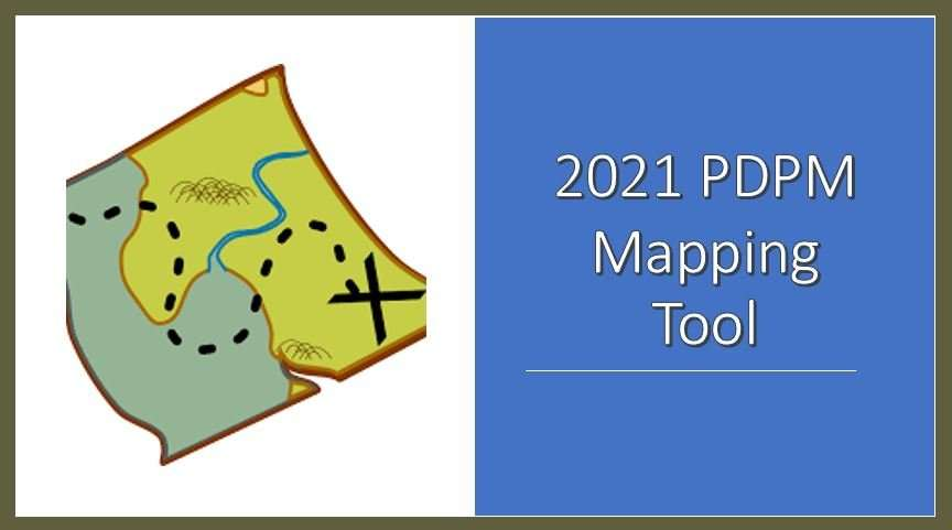 pdpm mapping pic